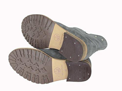 Armani Z5532 - botas sin cordones de cuero mujer - gris