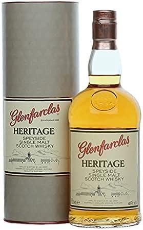 Glenfarclas Heritage Speyside Single Malt Scotch Whisky in Gift Box - 700 ml