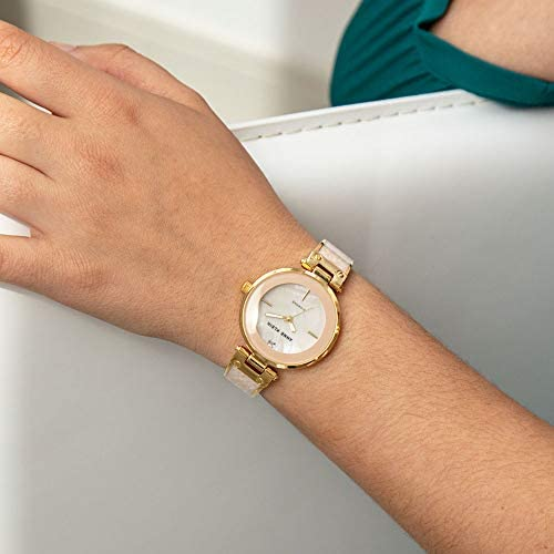 Anne Klein Women's Genuine Diamond Dial Bangle Watch WeeklyReviewer