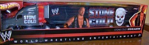 Stone Cold Steve Austin Hotwheels Hauler Semi Truck World Wrestling Entertainment Hot Wheels by Hot Wheels