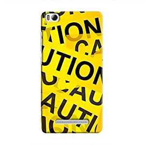 Cover It Up - Caution Tapes Mi4iHard Case