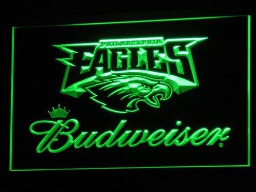 Philadelphia Eagles Budweiser Led Light Sign