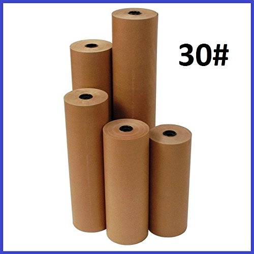 BoxYeah 30# Wt Kraft Brown 1200' Roll Shipping Wrapping Void Fill Paper - 12 Sizes Available - Example (6