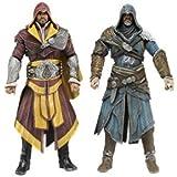 Assassin's Creed - Pack De 2 Figuras Ezio Auditore, 18 Centímetros