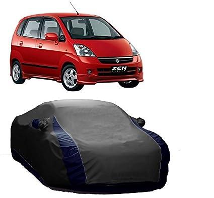Motrox Sporty Grey Car Body Cover For Maruti Suzuki Zen Estilo And