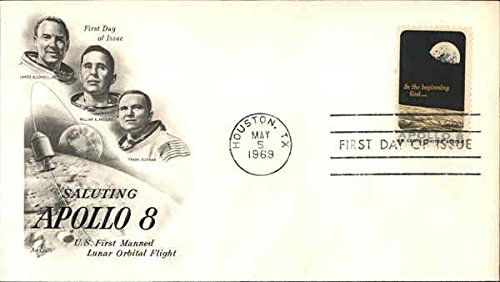 Collectible First Day Cover (Saluting Apollo 8 U.S. First Manned Lunar Orbital Flight Original First Day Cover)
