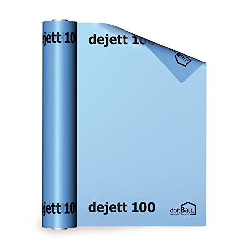 Dejett 100 Dampfsperrfolie 4m X 25m Blau Dampfbremse Dampfsperre