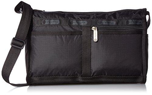 LeSportsac Classic Deluxe Shoulder Satchel Handbag, (Lesportsac Deluxe Shoulder Satchel)