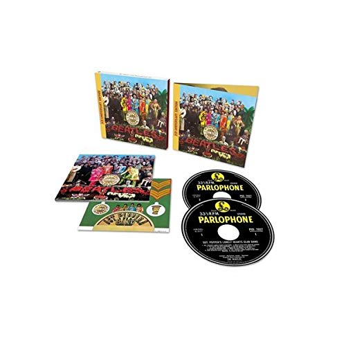 Beatles,The Sgt. Pepper'S Lo(2cd Cd (Full Length) (St Peppers Lonely Heart Club Band Cover)