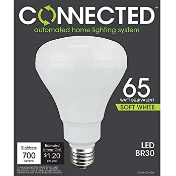 TCP 65W Equivalent Soft White BR30 Smart LED Bulb