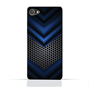 AMC Design Alcatel A5 LEDTPU Silicone Protective case with Abstract Blue Mesh Pattern