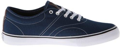 White Bixby Blue Contrast Sneaker Dekline CgHqRwtt