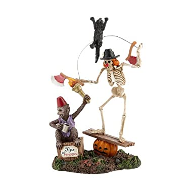 Department 56 Halloween Seasonal Decor Accessories for Village Collections, Funny Bones, 2.36-Inch