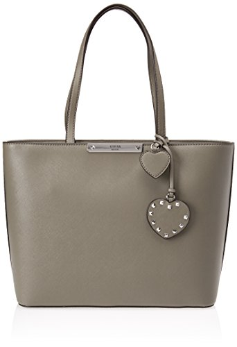 Guess Hwvy6693230, Borsa a Mano Donna, 12x22.5x28.5 cm (W x H x L) Grigio (Taupe)