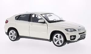 BMW X6, blanco, Modellauto, Fertigmodell, Welly 1:18