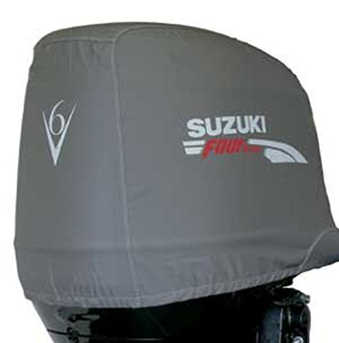 Suzuki Outboard Genuine OEM Cloth Motor Cover 4-Stroke 250AP/300/300AP (990C0-65008) by Suzuki Outboard