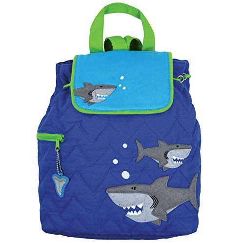 NWT Stephen Joseph Quilted Shark Backpack