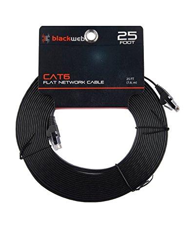 Pack of 50 pcs CAT6 Ethernet Patch Cable Black Box CAT6PC-B-006-WH