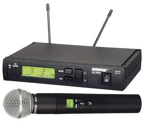 (Shure ULXS24/58 Handheld Wireless System, J1)