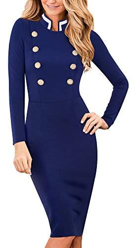 1950 button dress - 8