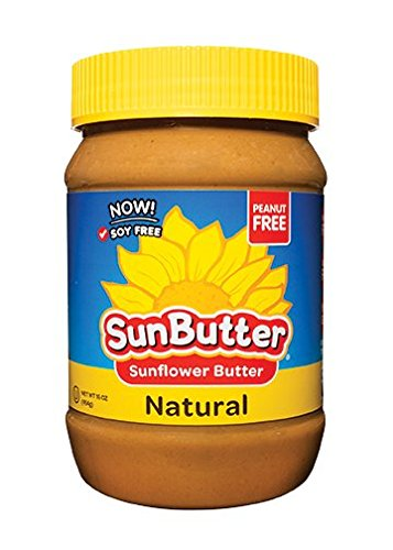 SunButter Sunflower Butter, Delicious, All Natural Alternative to Peanut Butter, 16 ounce plastic jars, Pack of 6 (Peanut Free compare prices)