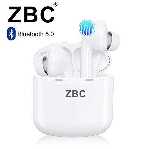 I9X Truly Wireless Bluetooth Earbuds Noise Reduction Headphones Hi-Fi 3D Stereo Sound Built-in Mic Earphones in-Ear TWS Headsets Smart Touch Airpods Portable Charging Case Android iOS Long Playtime