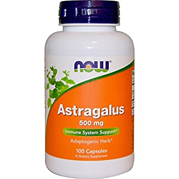 NOW Astragalus 500 mg,100 Capsules
