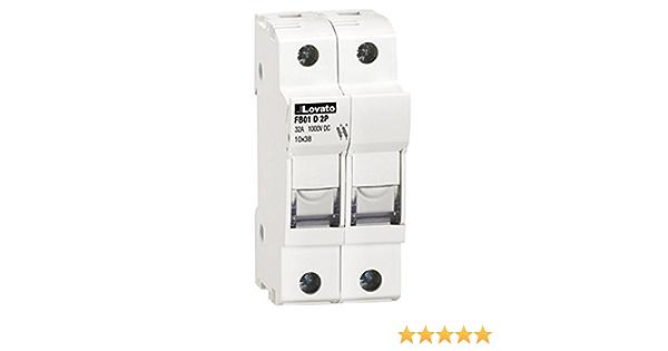 2 Pole 240//480V ASI NDB5-J43-2P DIN Rail Mount Circuit Breaker UL 1077 Supplemental Protection 3 amp