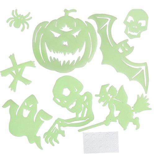 candybox Halloween Props Horror luminous Wall Stickers Halloween Supplies for Home Window (Homemade Cool Costumes Halloween)