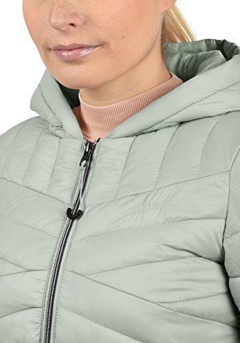 Plumas 3579 Acolchada Para Mujer Grey Capucha Chaqueta Slate De Entretiempo Con Desires Quella 7B4qwF