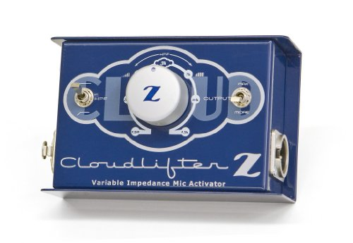 Cloud Microphones Cloudlifter CL-Z Mic Activator with Vari-Z and Vari-HPF ()