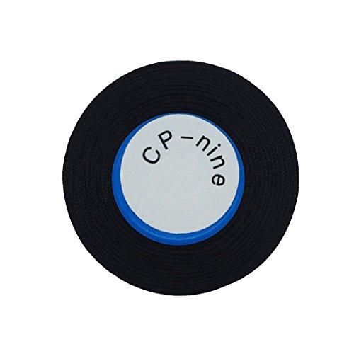 Haobase Black Bonded Nylon Sewing Thread 1500 Yard Size