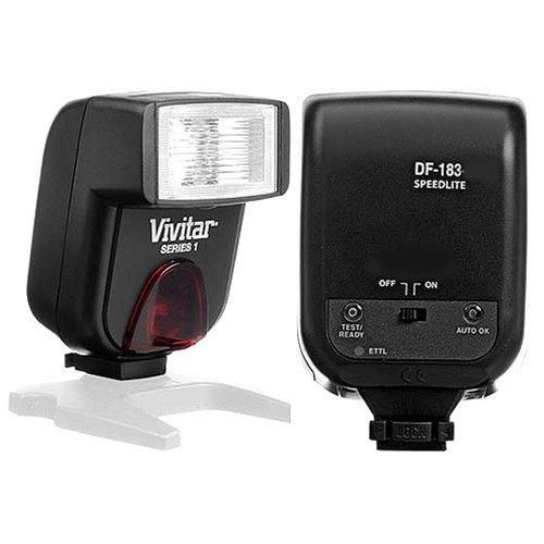 Vivitar df183デジタルTTLシューマウント電源ズーム/フラッシュバウンス自動焦点PentaxLデジタルSLRカメラ、ガイド数45 M (147 ')   B00341I5JU