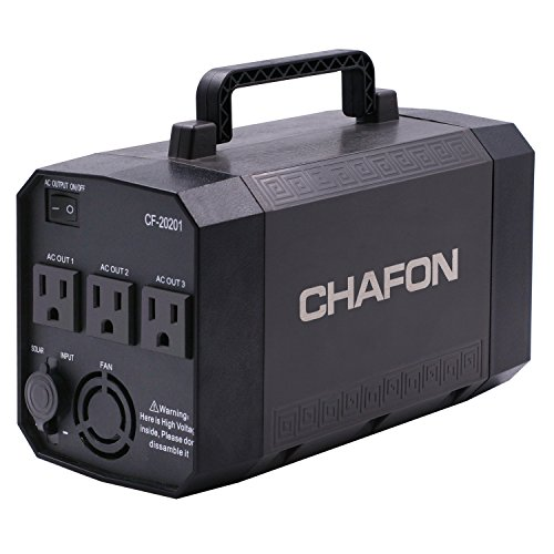 chafon portable power supply for camping or emergency review. Black Bedroom Furniture Sets. Home Design Ideas