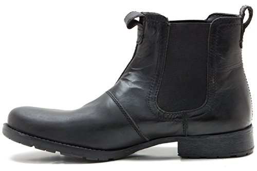 Red Tape Mens Redlake Black Casual Boot