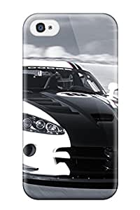 New Style Case Cover FljqMzX10104eAUwu Dodge Viper 4 Compatible With Iphone 4/4s Protection Case
