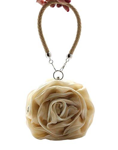 Abricot Multicolore Mères Fleur 3 Fête Sac série Mariage Soirée Multi Elégant Style des Heyjewels qEOwBvFv