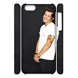 Iphone 5C 3D Personalized Phone Back Case with Harry Styles Image