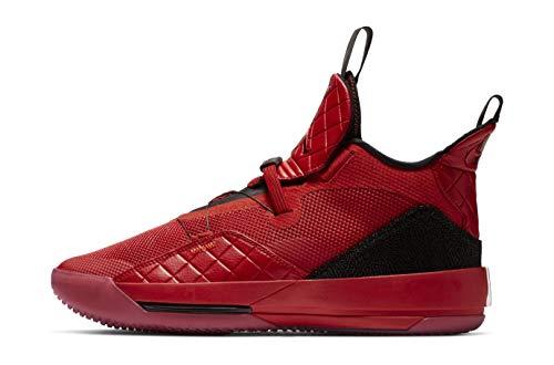 Nike Air Jordan Xxxiii Mens Aq8830-600 Size 15, University Red/University Red-black-sail (Jordan Shoes Men 15)