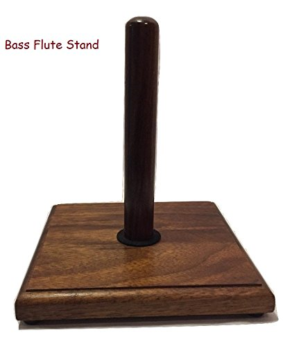 Flute Stands Solid Walnut