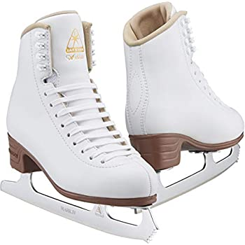 Image of Figure Skates Jackson Ultima Artiste Figure Ice Skates for Womens, Girls, Mens and Boys in White and Black Colors - Improved, JUST LAUNCHED 2019