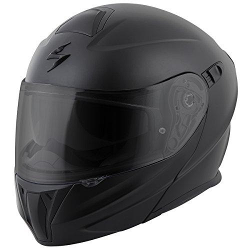 ScorpionExo EXO-GT920 Full Face Modular Helmet (Matte Black, Medium)