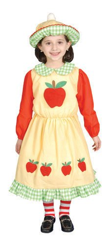 Deluxe Apple Dress Costumes (Deluxe Apple Dress Costume Set - Toddler T1)