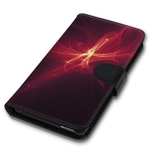 Wallet Book Style Flip Handy Tasche Case Schutz Hülle Schale Motiv Etui für Apple iPhone 4 / 4S - Design Flip MV127