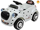 Baybee Buddy Electric Ride-on Toy Car (White)