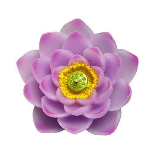 Birthday Candles Smokeless Cake Topper Candle for Party Supplies and Wedding Favor (Lotus) ()