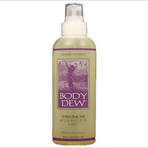 Rosée Classique Body Erotica Après Huile de bain avec phéromones, 8 oz