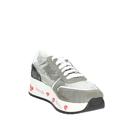 It Sneakers 4 Femme Gris Petite Braccialini zwvq0Z0