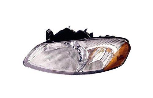 2001-2006 Dodge Stratus 4-Door & 2001-2003 Chrysler Sebring Sedan or Convertible Headlight Headlamp Head Light Lamp Pair Set Right Passenger And Left Driver Side (2001 01 2002 02 2003 03 2004 04 2005 05 2006 06)