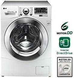 Lavadora LG F14A8TDA 8kg 1400rpm direct drive clase A+++: Amazon ...